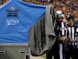 Reviewing the Officiating Footbasll